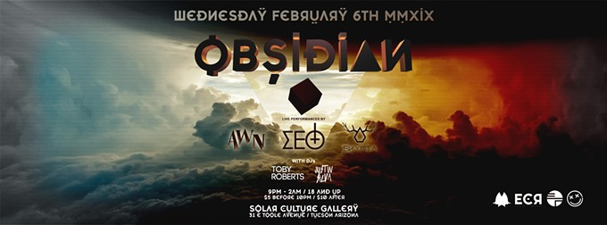 COURTESY OF OBSIDIAN FEAT. SKYNIA, AWN, ΣΕΘ AND MORE FACEBOOK EVENT PAGE