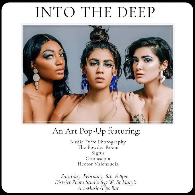 COURTESY OF INTO THE DEEP, AN ART POP-UP FACEBOOK EVENT PAGE