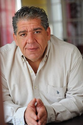 Joey Coco Diaz, everyone's favorite thug, preaches at the Fox on Saturday, Feb. 23. - JOEY COCO DIAZ ON FACEBOOK
