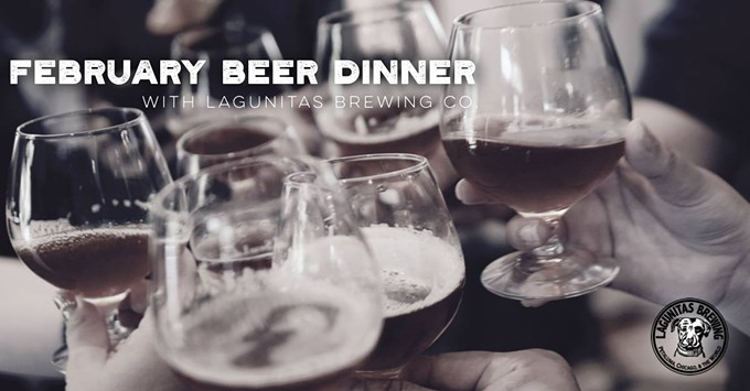 COURTESY OF LAGUNITAS BEER DINNER FACEBOOK EVENT PAGE