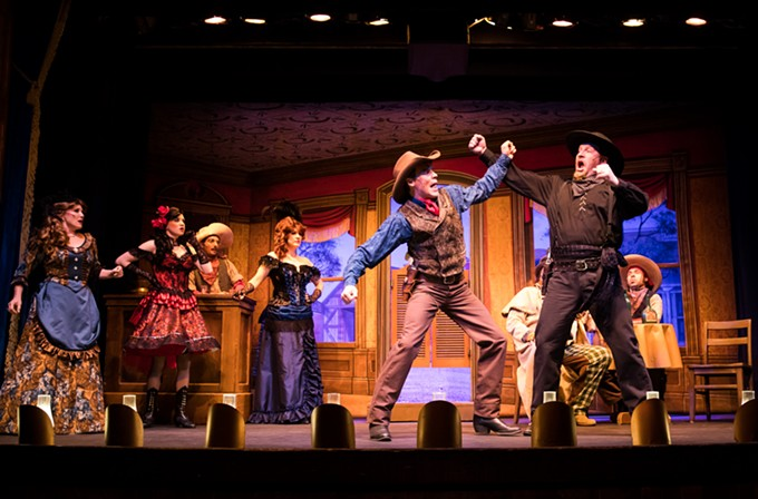 The Belle of Tucson is hoofs it out of the Gaslight Theatre in two more weeks. - GASLIGHTTHEATRE.COM
