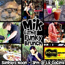 COURTESY OF MIK AND THE FUNKY BRUNCH AT LA COCINA FACEBOOK EVENT PAGE