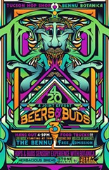 COURTESY OF BEERS & BUDS III - A JOINT EFFORT AT TUCSON HOP SHOP FACEBOOK EVENT PAGE