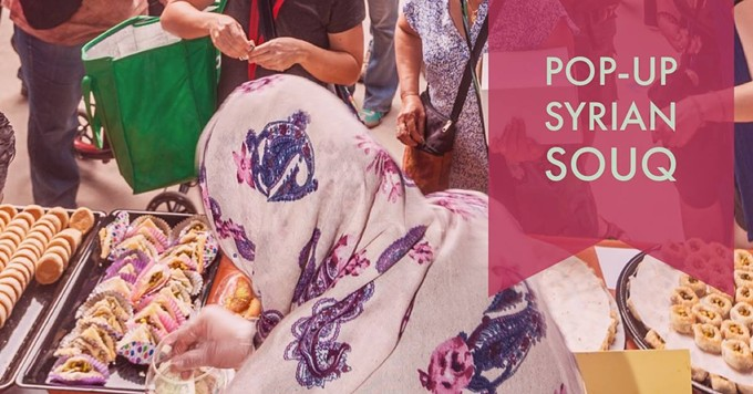 COURTESY OF POP-UP SYRIAN SOUQ & BAZAAR FACEBOOK EVENT PAGE
