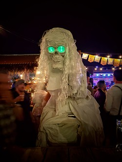 One of Patrick Casey's Halloween costumes. - COURTESY PATRICK CASEY