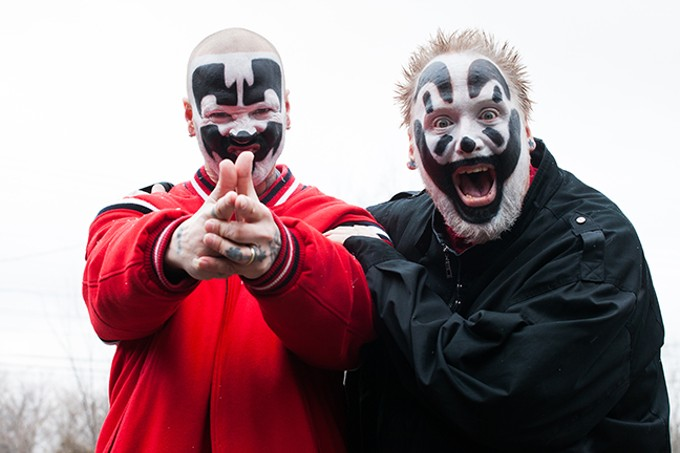 Insane Clown Posse: Saturday, May 25 @ Rialto Theatre. - COURTESY PHOTO