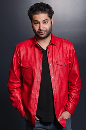 """Kabir """"Kabeezy"""" Singh performs at Laff's Comedy Caffe June 7 and 8 with Chris Thayer opening. - KABIRKABEEZYSINGH.COM"""
