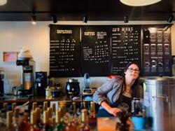 Acacia followed  followed Bakker from a previous job running the kitchen at long-running, now-shuttered Mother Hubbard's Café. - BRIAN SMITH