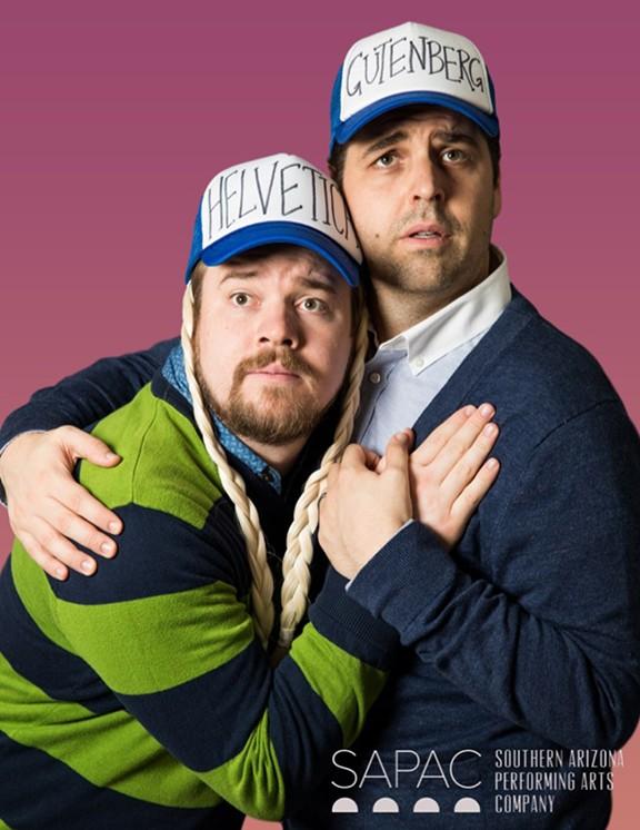 Carson and Tyler Wright portraying Bud Davenport and Doug Simon - COURTESY PHOTO