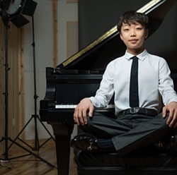 Prodigy Nathan Lee, who won first prize in the 2016 Young Concert Artists International Auditions when he was just 15, will be joining the Arizona Friends of Chamber Music for a November concert. - COURTESY PHOTO
