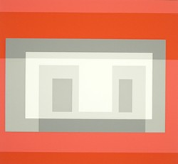 Variant VI (From Ten Variants), 1966, screenprint, by Josef Albers, is part of A New Unity: The Life and Afterlife of Bauhaus, opening Aug. 31 at the University of Arizona Museum of Art.