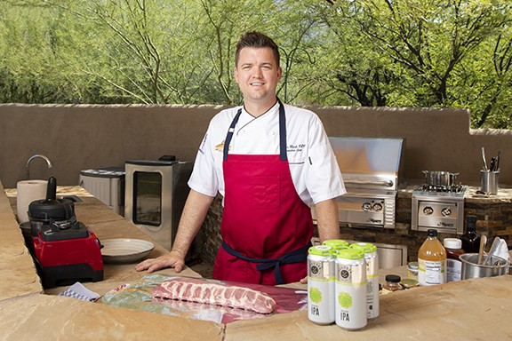 "Casino Del Sol Executive Chef Ryan Clark: ""As a Tucson native, I'm a huge Wildcats fan so tailgating has always been something I look forward to."" - COURTESY PHOTO"