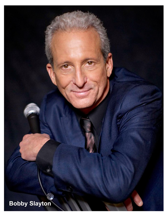 Bobby Slayton, comedy pioneer of the west campus, performs Friday, Oct. 18, in Standup for Humanity. - WILLIAM CLARE ENTERTAINMENT