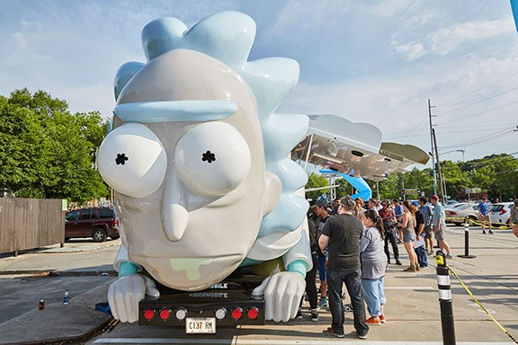 Rickmobile - ADULT SWIM