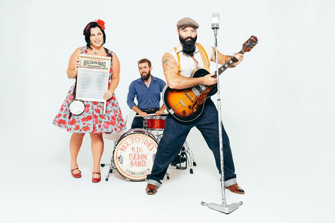 Reverend Peyton's Big Damn Band - COURTESY PHOTO