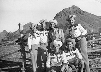 Kenny Smith's group at Old Tucson. - COURTESY PHOTO