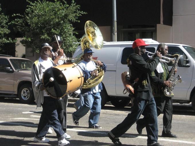Rebirth Brass Band - PHOTO BY INFROGMATION