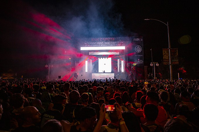 """Rezz: On Day 2, combining her fascination with psychology and passion for creating downtempo soundscapes, The """"Queen of the Dark Techno Scene"""" evinced a Certain Kind Of Magic before bringing Dusk 2019 to a resplendent close. - C. ELLIOTT PHOTOGRAPHY"""