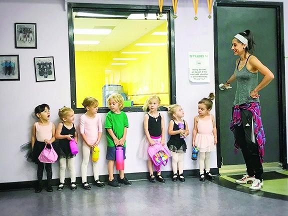 "Megan Maltos at work: ""The kids deserve it."" - BRIAN SMITH"