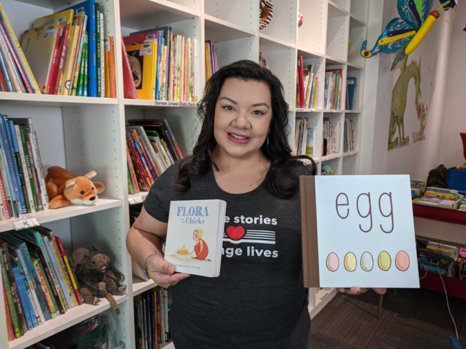 Make Way For Books' app provides free books for young children, along with literacy tips for their parents. The local nonprofit recently launched a Facebook story time series open to any family with young children. - COURTESY PHOTO