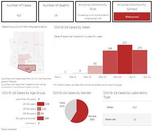 Pima County statistics