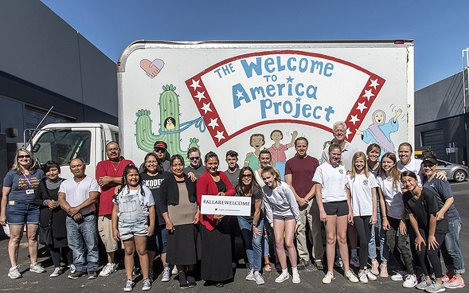 The Welcome to America Project is one of the many organizations across the Valley providing extra support to refugee families as they navigate their post-COVID 19 lives. (Photo by Sabine Thompson)