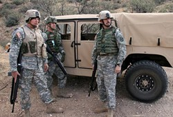 Should troops be operating as law-enforcement agents on U.S. soil? - U.S. ARMY PHOTO BY SGT. 1ST CLASS GORDON HYDE