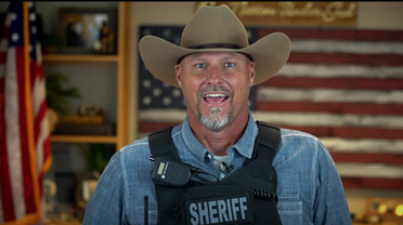 Pinal County Sheriff Mark Lamb announcing the program on PCSO's YouTube channel.