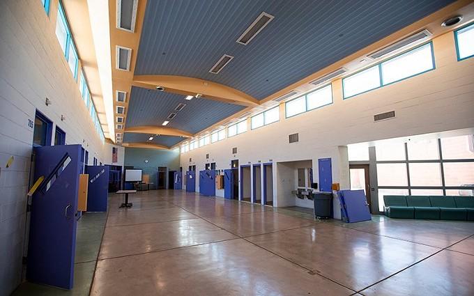 Photo of juvenile justice facility courtesy Pima County