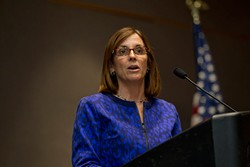 U.S. Sen. Martha McSally was against the extra $600 a week in unemployment benefits before she was for it. - COURTESY OF PIMA.GOV
