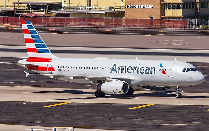 An American Airlines jet taxis at Sky Harbor Airport, a hub for the airline, in this 2018 file photo. Executives at the airline have said they might have to furlough or lay off 19,000 workers on Oct. 1 without more federal aid, but they have not said where the cuts might come. - COLIN BROWN PHOTOGRAPHY/CREATIVE COMMONS