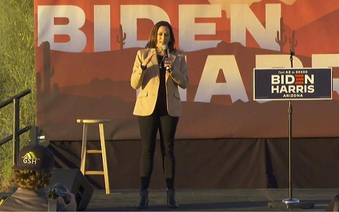 Democratic vice presidential nominee Kamala Harris - PHOTO COURTESY C-SPAN