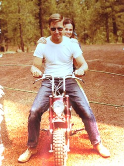 Mike and Kathy Hard in Flagstaff in the early '70s. - COURTESY PHOTO