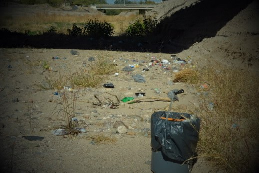 Trash and invasive species continue to threaten the newly flowing Santa Cruz River near downtown Tucson. Every week, a group of volunteers works to remove these threats to protect the urban ecosystem.