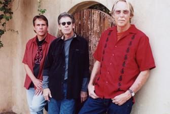 Meighan (center) with Norm Pratt (left) and Dick Furlow, in Meighan, Pratt, Furlow, circa 2000s. - COURTESY STEVE ZIND
