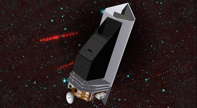 The Near Earth Object Surveyor infrared telescope is moving toward its preliminary design phase, led by University of Arizona professor Amy Mainzer. NASA plans to launch the surveyor in 2026. - NASA/JPL-CALTECH