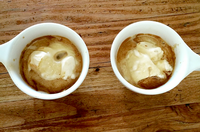 Prepare to fall in love with the affogato. - IF Y