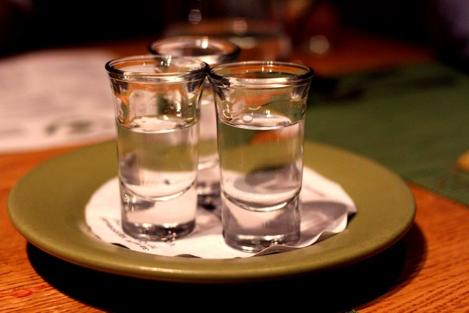 What's a trip to Russia without the vodka? - HEATHER HOCH