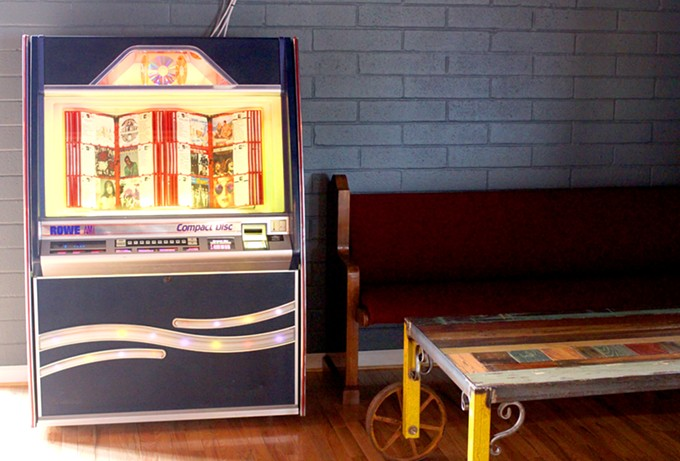 Check out this jukebox filled with classics. - HEATHER HOCH