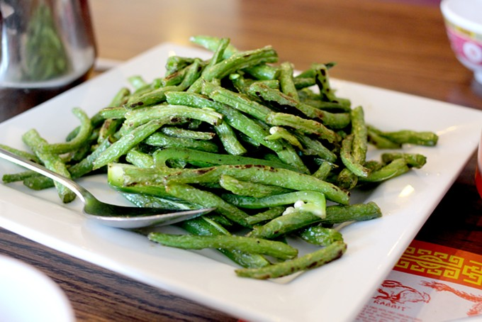 These sautéed green beans pack a spicy punch with jalapenos added. - HEATHER HOCH