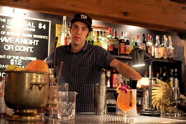 Karl Goranowski's real favorite cocktail to make? Whatever the guest wants, of course. - HEATHER HOCH