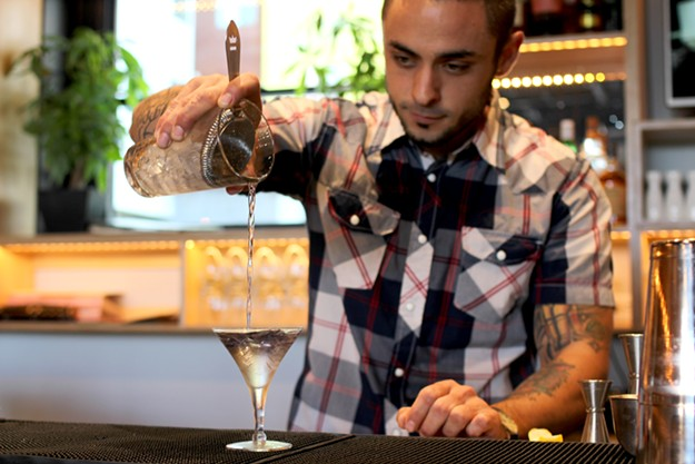 Matt Martinez says this cocktail was the first to open his eyes to the subtlety and possibility of craft cocktails. - HEATHER HOCH