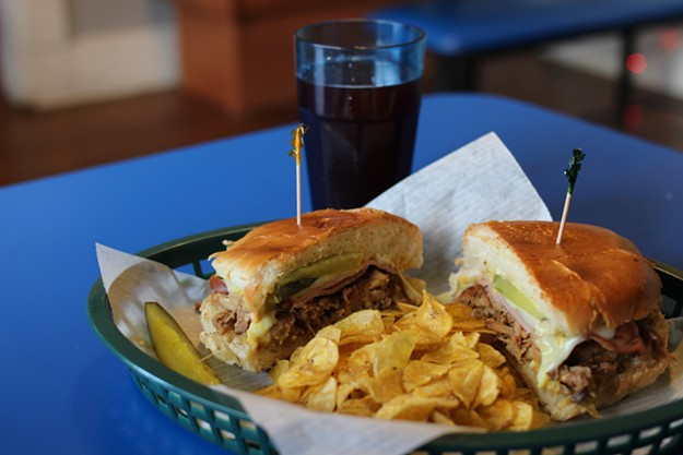 Latin It Up is, indeed, home of the Cuban sandwich. - HEATHER HOCH
