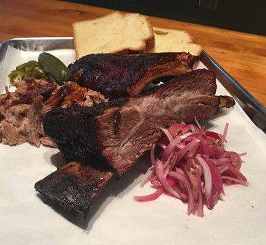 Smoked meat fans, rejoice! Brother John's is now open. - HEATHER HOCH