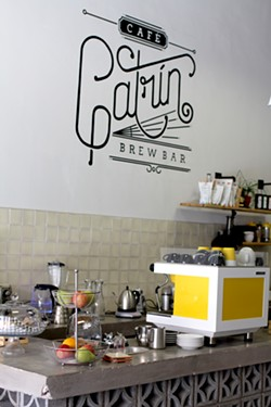 Boutique coffee served Sonoran style at Cafe Catrín. - HEATHER HOCH