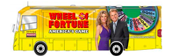 Over a million fans have attended the Wheelmobile events. Here's what it looks like, can't miss it. - PRESS RELEASE FROM WHEEL OF FORTUNE MEDIA