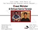 Casa Libre Presents: February Fair Weather w/ Chaun Webster & Enrique García Naranjo