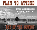 National Day of the Cowboy at the Historic Empire Ranch