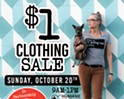 Buffalo Exchange $1 Clothing Sale