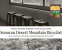 Sonoran Desert Mountain Bicyclist at Iron John's Brewery